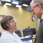 With Bea Kraayenhof, Board Member (Ontario Dementia Advisory Group)
