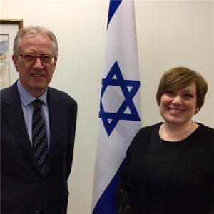 Isreal Consul General Galit Baram